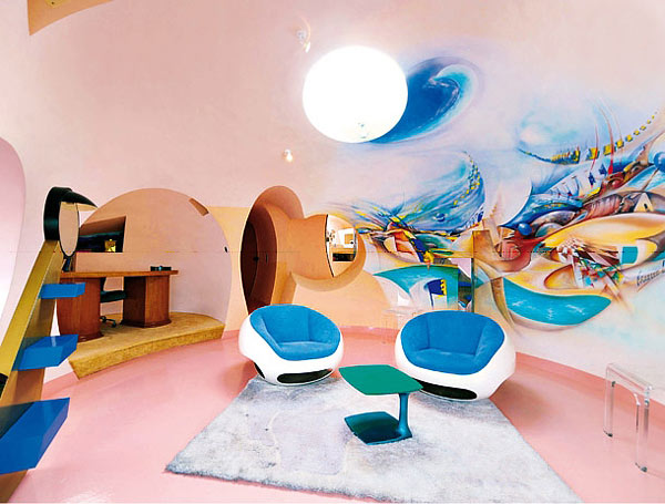 palais bulles bubble palace pierre cardin house antti. Black Bedroom Furniture Sets. Home Design Ideas